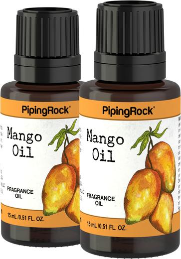 Óleo perfumado de manga, 1/2 fl oz (15 mL) Frasco conta-gotas, 2  Frascos conta-gotas