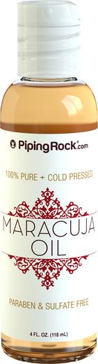 Óleo de maracujá 100% puro (pressão a frio), 4 fl oz (118 mL) Frasco