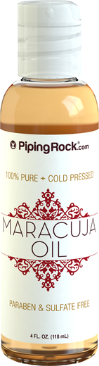 マラクジャ オイル 純度 100% コールド プレス 4 fl oz (118 mL) ボトル