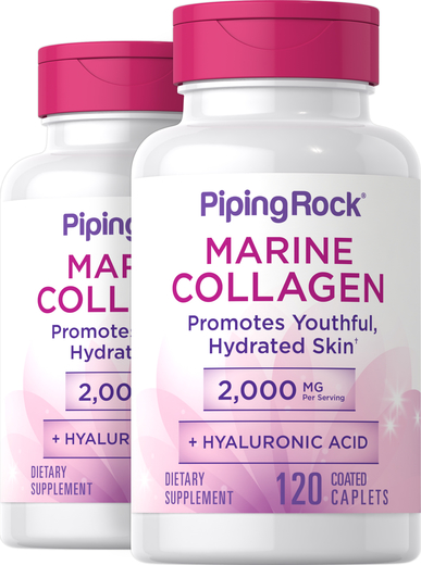 Fish Collagen 500mg + Hyaluronic Acid 20mg 240 Tablets