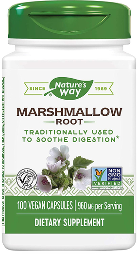 Marshmallow Root, 960 mg (per serving), 100 Capsules