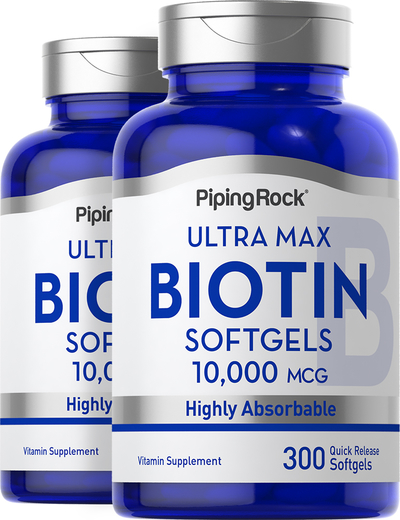 Max Biotin, 10,000 mcg, 300 Quick Release Capsules