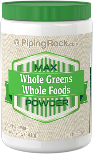 Max Whole Greens w proszku 12 oz (341 g) Butelka