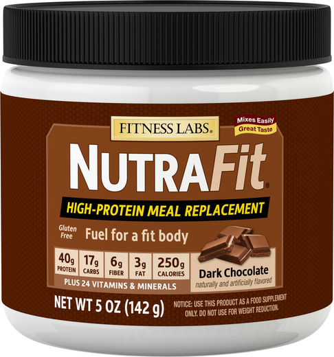 Nutrafit Meal Replacement Shake (Dark Chocolate) (Trial Size), 5 oz