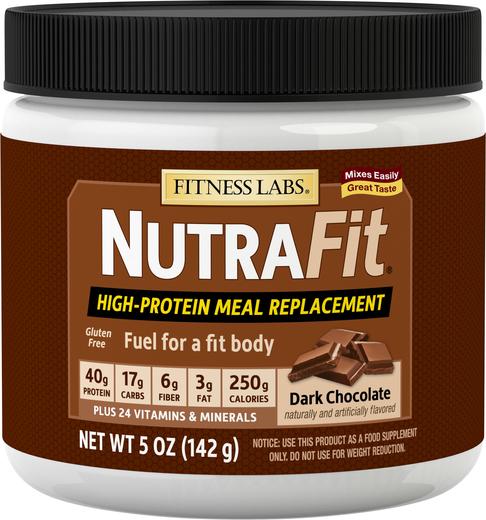Shake zastępujący posiłek NutraFit (czekolada deserowa) (próbka) 5 oz (142 g) size_units.unit.118
