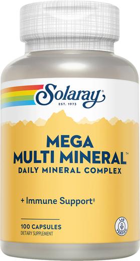 Mega Multi Mineral, 100 Capsules