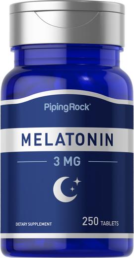 Melatonina , 3 mg, 250 Comprimidos