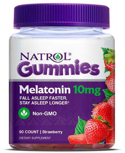 Gomas de Melatonina, 10 mg, 90 Gomas