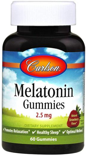 Gummy Melatonin 60 Gula-Gula Lekit