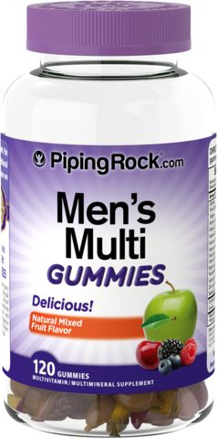 Multigummies for menn 120 Gummifigurer