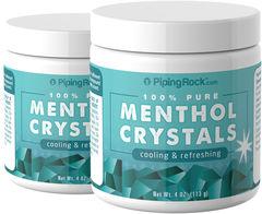 Menthol Crystals 4 oz Bottle