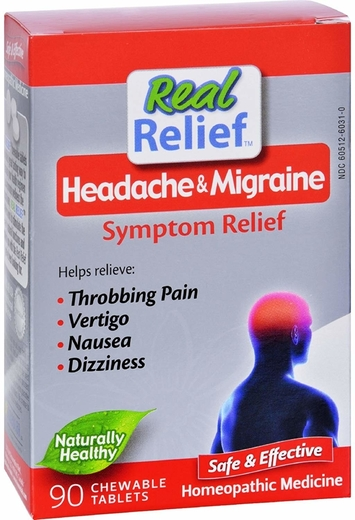 Migraine Relief 90 Chewable Tablest