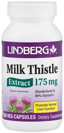 Milk Thistle Standardized Extract 175 mg, 180 Veg Capsules