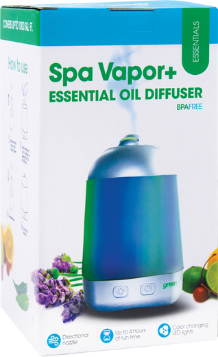 Green Air Spa Mist Vapor Diffuser 1 Unit