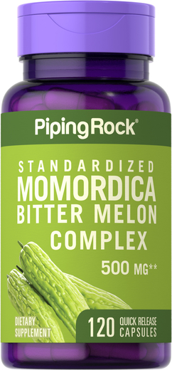 Momordica Bitter Melon Complex 500 mg, 120 Capsules