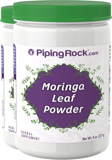 Moringa Leaf Powder  2 Bottles x 8 oz (227 g)