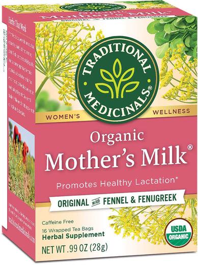Organic Mother's Milk Tea 16 Tea Bags