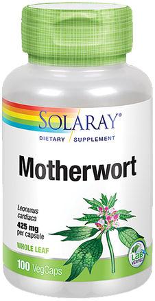 Motherwort Supplement 425 mg 100 Capsules