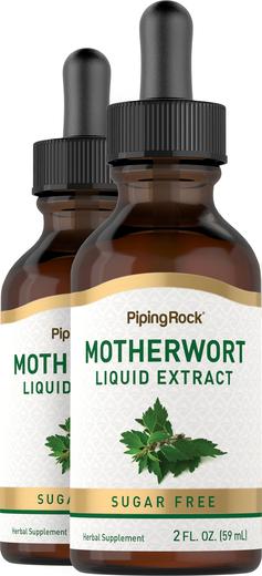 Motherwort Liquid Extract 2 fl oz (59 mL) Butelka z zakraplaczem