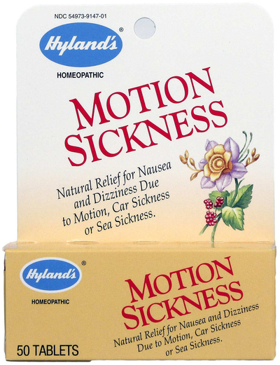 Motion Sickness Homeopathic, 50 Tablets