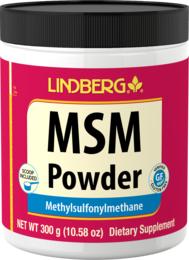 MSM (metylosulfonylometan) Proszek 10.58 oz (300 g) Butelka