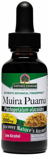 Ekstrak Cecair Akar Muira Puama  1 fl oz (30 mL) Botol Penitis