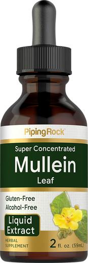 Mullein Leaf Liquid Extract 1 fl oz Alcohol Free