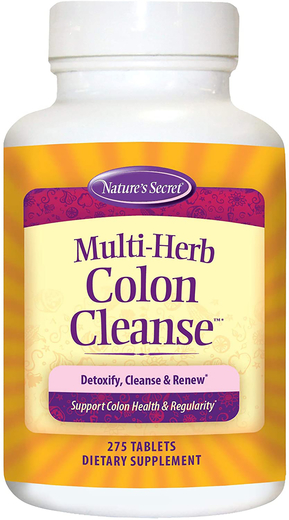 Multi-Herb Colon Cleanse, 275 Tabs