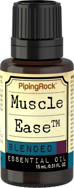 Mezcla de aceites esenciales desentumecedores Muscle Ease  1/2 fl oz (15 mL) Frasco con dosificador
