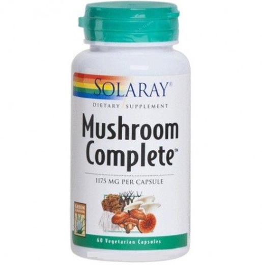 Cogumelo completo, 1175 mg, 60 Cápsulas vegetarianas
