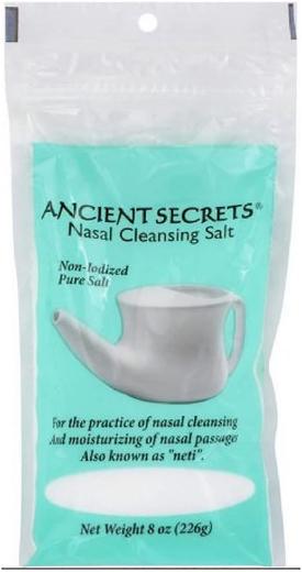 Sól do oczyszczania nosa 8 oz (226 g) Torebka