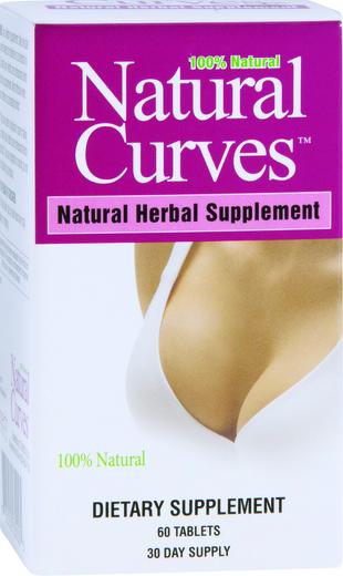Curvas naturais, 60 Comprimidos