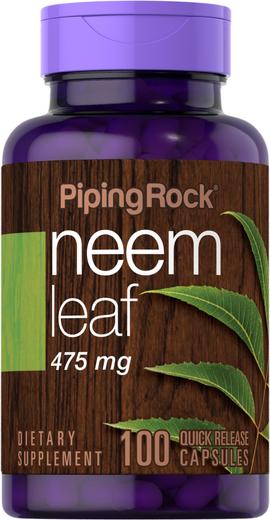 Neem Leaf 475 mg 100 Capsules