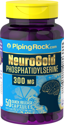 Neuro Gold Phosphatidylserine 300mg 50 Capsules