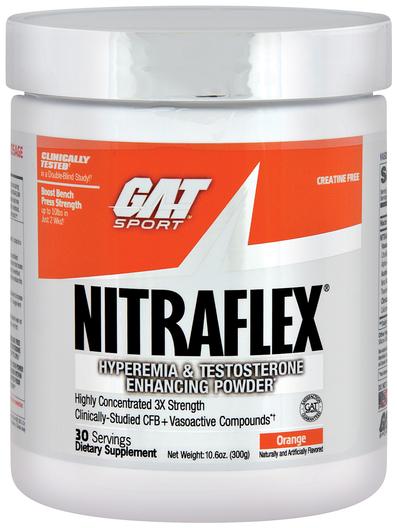 Proszek Nitraflex (pomarańcza) 10.6 oz (300 g) Butelka