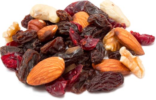 Смесь из орехов и сухофруктов для здорового питания 1 lb (454 g) Пакетик