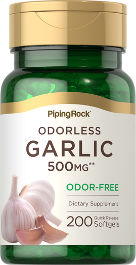 Garlic 500mg Odorless 200 Softgels