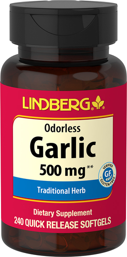 Odorless Garlic, 500 mg, 240 Quick Release Softgels