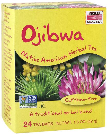 Te purificante alle erbe Ojibwa (Esiak) 24 Bustine del tè