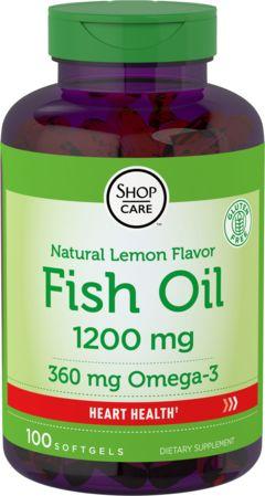 Omega-3 halolajcitrom ízű 100 Puha gél