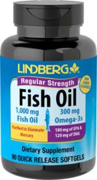 Omega-3 Fish Oil (Regular Strength), 90 Sg