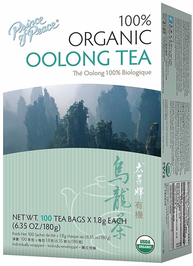 Buy Organic Oolong Tea 100 Tea Bags