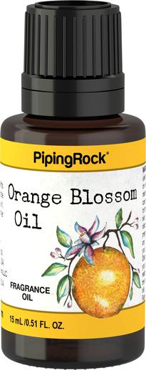 Olejek aromatyczny z kwiatów pomarańczy 1/2 fl oz (15 mL) Butelka z zakraplaczem