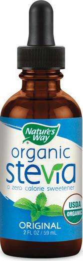 Stewia organiczna w płynie (oryginalna) 2 fl oz (59 mL) Butelka