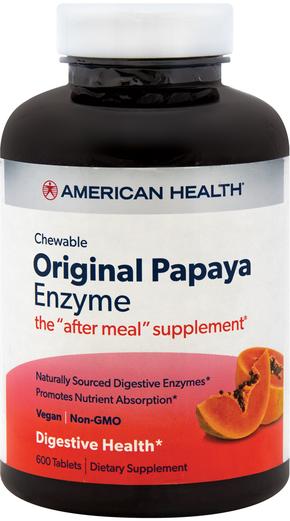 Enzymy papai do żucia 600 Tabletki do żucia