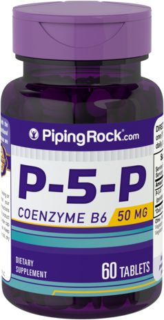 P-5-P (Pyridoxal 5-Phosphate) 50 mg Coenzymated VitaminB-6
