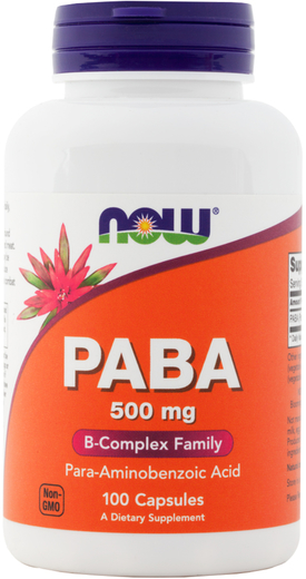 Buy Paba 500 mg Supplement 100 Capsules