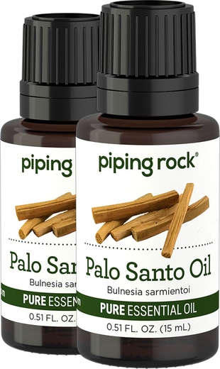 Olejek eteryczny z drzewa Palo Santo o czystości (GC/MS Sprawdzono) 1/2 fl oz (15 mL) Butelka z zakraplaczem
