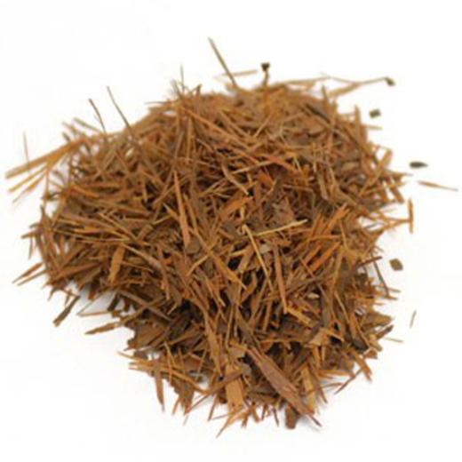 パウ ダルコ樹皮 (タヒボ)、カットして篩いがけ、無農薬 1 lb (454 g) 袋