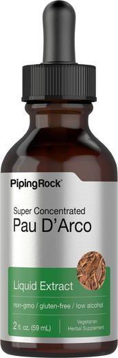 Ekstrak Cecair Pau D'Arco  2 fl oz (59 mL) Botol Penitis